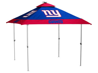 New York Giants Logo Brands Pagoda Canopy