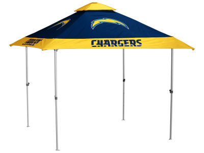 Los Angeles Chargers Logo Brands Pagoda Canopy - No Lights