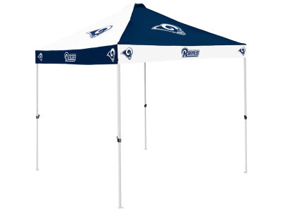 Los Angeles Rams Logo Brands NFL Checkerboard Canopy Tent