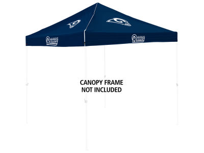 Los Angeles Rams Logo Brands Colored Canopy Top