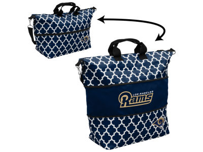 Los Angeles Rams Logo Brands Expandable Tote