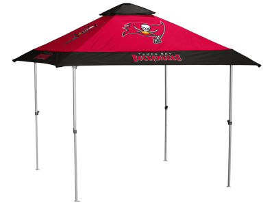 Tampa Bay Buccaneers Logo Brands Pagoda Canopy - No Lights