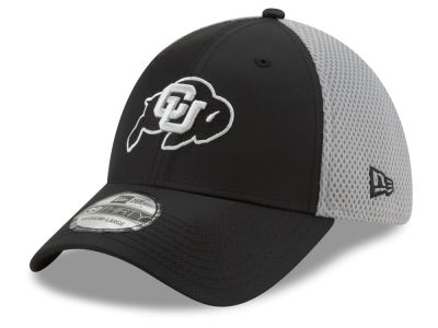 92ca1982221 Colorado Buffaloes New Era NCAA Team Color Gray Neo 39THIRTY Cap