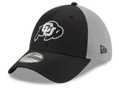 7ffab2f99be Colorado Buffaloes New Era NCAA Team Color Gray Neo 39THIRTY Cap