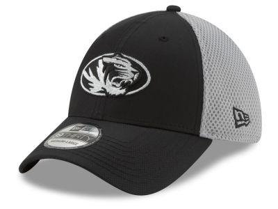 finest selection e3d9a 310f9 Missouri Tigers New Era NCAA Team Color Gray Neo 39THIRTY Cap