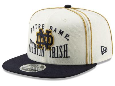 Notre Dame Fighting Irish New Era NCAA Retro 9FIFTY Snapback Cap 2822016d7505