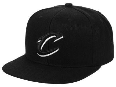 7969a4912f3 Cleveland Cavaliers Mitchell   Ness NBA Blackout Pop Snapback Cap
