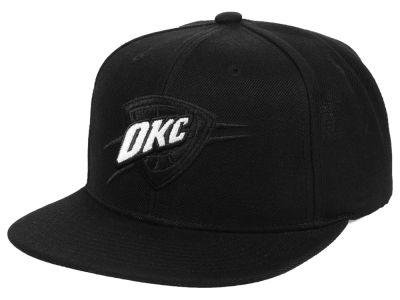 Oklahoma City Thunder Mitchell   Ness NBA Blackout Pop Snapback Cap 4e0c4a0d3a2