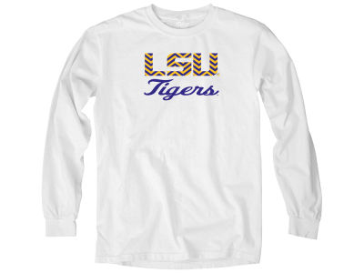 LSU Tigers NCAA Women's Overdyed Long Sleeve T-Shirt
