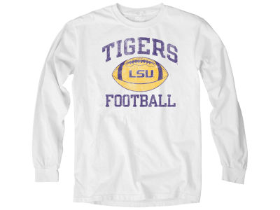 LSU Tigers NCAA Men's Overdyed Long Sleeve T-Shirt