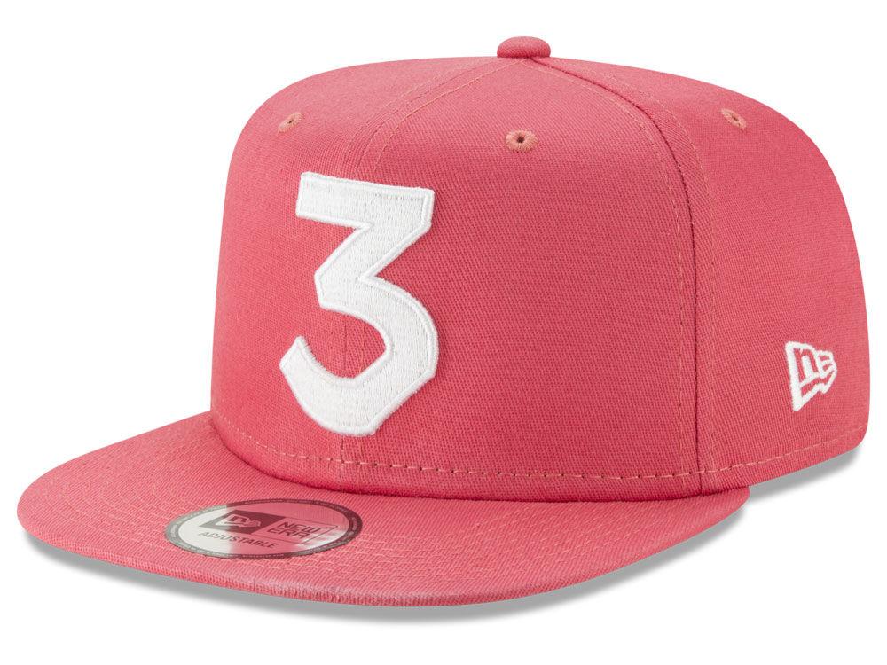 Chance The Rapper New Era 3 Snapback Cap  512bc8f7678