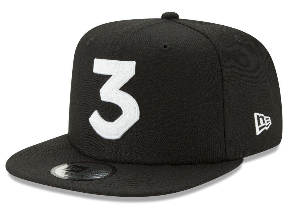 Chance The Rapper New Era 3 Snapback Cap  c8d48d46d84
