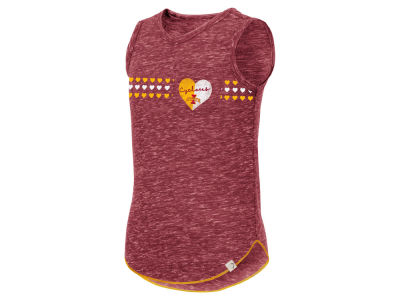 Colosseum NCAA Youth Girls Distressed Heart Tank