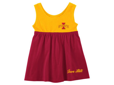 Iowa State Cyclones Colosseum NCAA Infant Girls Bow Back Dress