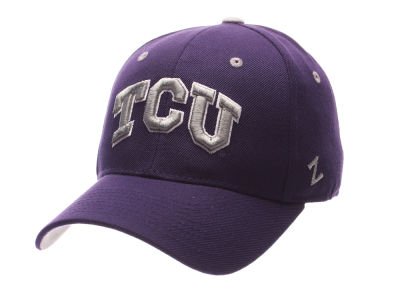 Texas Christian Horned Frogs Zephyr NCAA DH Fitted Cap