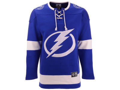Tampa Bay Lightning NHL Men's Breakaway Lace Up Crew Sweatshirt