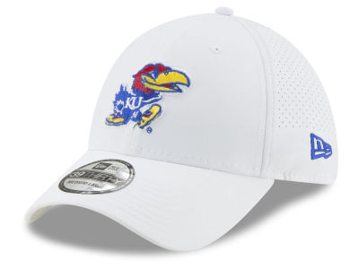 eac89660fa2 Kansas Jayhawks New Era NCAA Performance Play 39THIRTY Cap