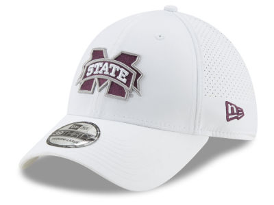 14171546967 Mississippi State Bulldogs New Era NCAA Performance Play 39THIRTY Cap