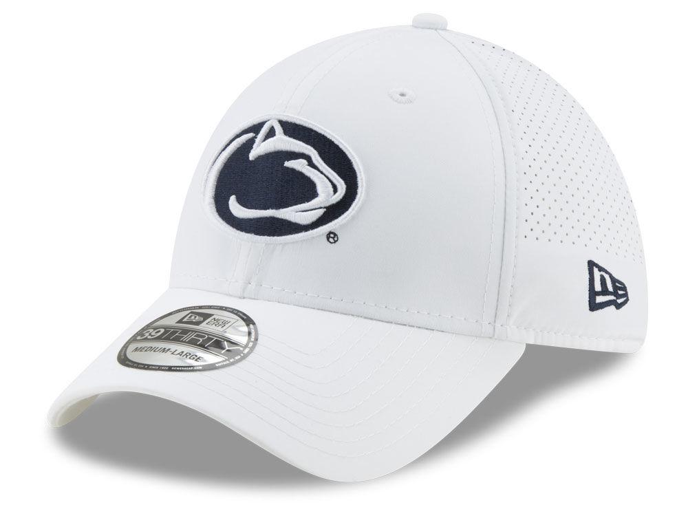 Penn State Nittany Lions New Era NCAA Performance Play 39THIRTY Cap ... e7b5dd5ecdb4