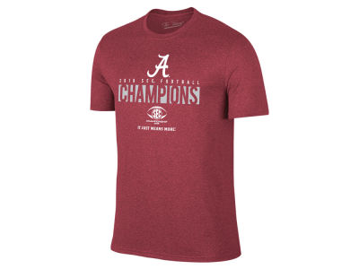 Alabama Crimson Tide The Victory 2018 NCAA Men's Locker Room Conference Champ T-Shirt