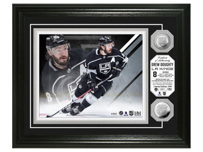 Los Angeles Kings Drew Doughty Highland Mint NBA Bronze Coin Photo Mint