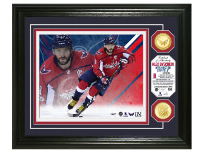 Washington Capitals Alexander Ovechkin Highland Mint NBA Bronze Coin Photo Mint