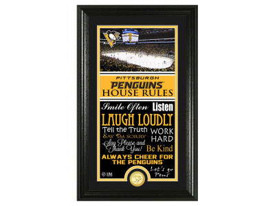 52cb7c76e Pittsburgh Penguins Highland Mint NFL House Rules Supreme Bronze Coin Photo  Mint