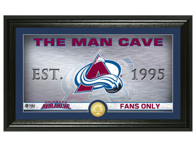 Colorado Avalanche Highland Mint Man Cave Panoramic Bronze Coin Photo Mint