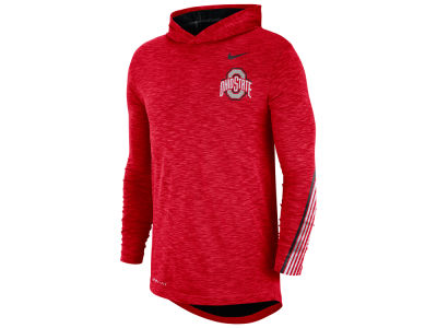 Nike NCAA Men's Hooded Sideline Long Sleeve T-Shirt