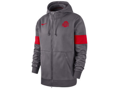 Nike NCAA Men's Therma Sideline Hooded Full Zip Jacket