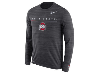 Nike NCAA Men's Velocity Travel Long Sleeve T-Shirt