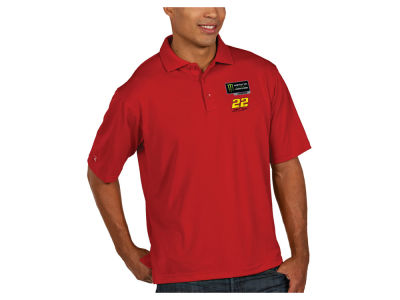 Joey Logano Antigua 2018 NASCAR Champ Men's Pique Polo
