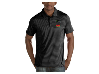 Joey Logano Antigua 2018 NASCAR Champ Men's Quest Polo