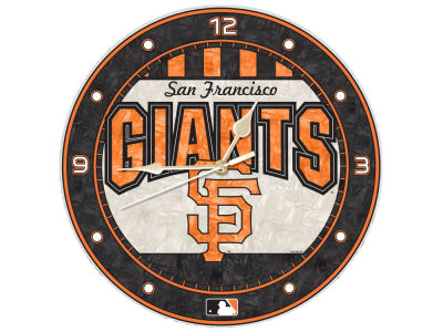 San Francisco Giants Memory Company Art Glass Clock