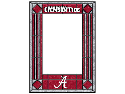 Alabama Crimson Tide Memory Company Art Glass Vertical Frame