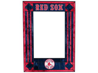 Boston Red Sox Memory Company Art Glass Vertical Frame