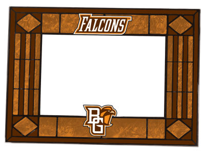 Bowling Green Falcons Memory Company Horizontal Art Glass Picture Frame
