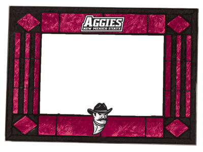 New Mexico State Aggies Memory Company Horizontal Art Glass Picture Frame