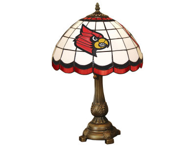 Louisville Cardinals Memory Company Tiffany Style Desk Lamp