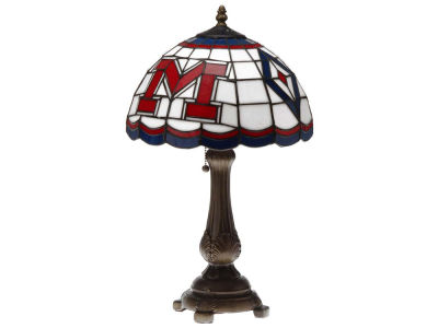 Ole Miss Rebels Memory Company Tiffany Style Desk Lamp