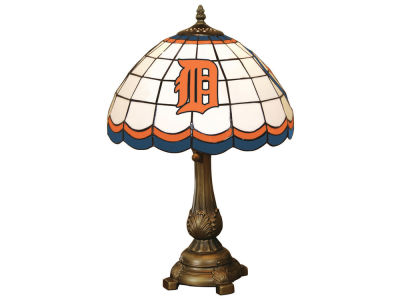 Detroit Tigers Memory Company Tiffany Style Desk Lamp