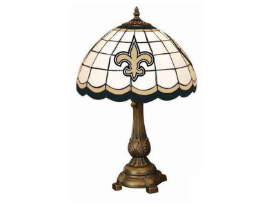 New Orleans Saints Memory Company Tiffany Style Desk Lamp