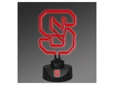 North Carolina State Wolfpack Memory Company Team Logo Neon Lamp