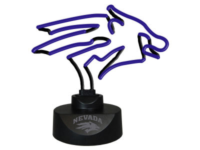 Nevada Wolf Pack Memory Company Team Logo Neon Lamp