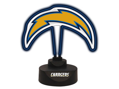 Los Angeles Chargers Memory Company Team Logo Neon Lamp