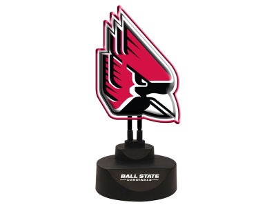 Ball State Cardinals Memory Company Team Logo Neon Lamp