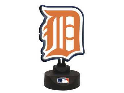 Detroit Tigers Memory Company Team Logo Neon Lamp