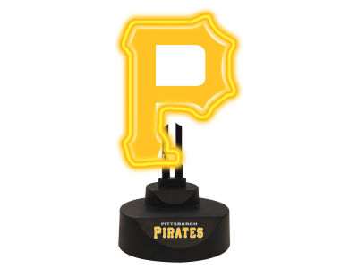 Pittsburgh Pirates Memory Company Team Logo Neon Lamp