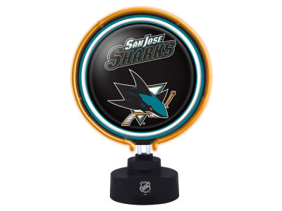 San Jose Sharks Memory Company Neon Desk Lamp