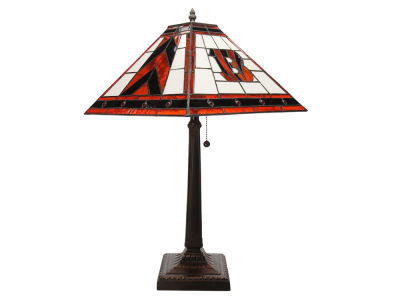 Cincinnati Bengals Memory Company Stained Glass Mission Lamp